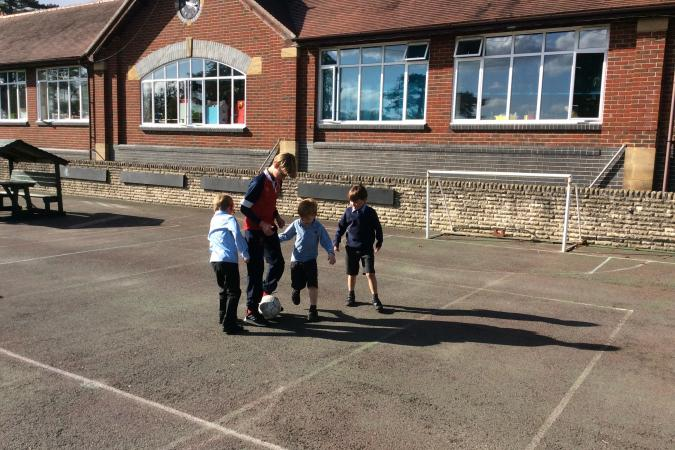Pupil Listeners - Here to Help and Play